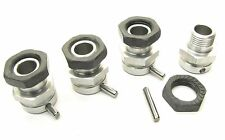 MBX7TR HEX NUTS (wheel hubs E2214 x 4 17mm, locking & Pins Mugen MBX6T MUGE2019