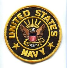 UNITED STATES US NAVY EAGLE & ANCHOR CREST Ship Squadron Jacket Veteran Patch