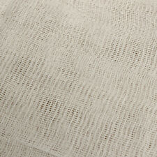 MUSLIN FABRIC 2 Yard Bleached Width 90cm Craft Meterial Gauze Cheesecloth Butter