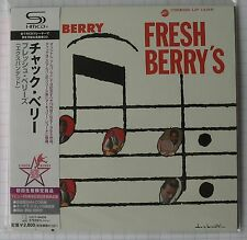 CHUCK BERRY - Fresh Berry's + 8 BONUS JAPAN SHM MINI LP CD NEU! UICY-94633