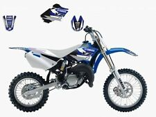 BLACKBIRD YAMAHA YZ 85 2006 2007 KIT GRAFICHE ADESIVI DREAM 3 NERO BLU GRAPHICS