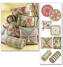 NEW | McCalls Home Furnishing / Decorative Sewing Pattern 4410 Pillow Essentials