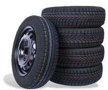 4 CERCHI FERRO GOLF 5-6-7 + 4 PNEUMATICI 205/55 R16 94V XL 4 STAGIONI MICHELIN