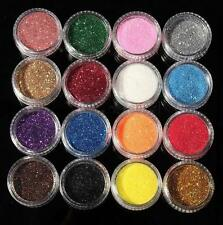 16 Colors Set Glitter Powder Eyeshadow Women's Makeup Eye Shadow Cosmetics Salon