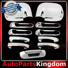 02-08 Dodge Ram Chrome 1500+2500+3500 HD Mirror+4 Door Handle+Tailgate Cover
