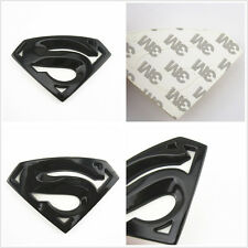100 % Black 3D Metal Superman Emblem Badge Car Body Window Bumper Decal For Ford