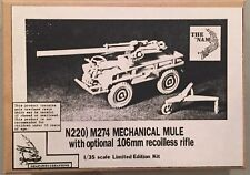 The Nam 1:35 M274 Mechanical Mule with Optional 106mm Recoilles Rifle N220