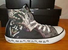 NEW Converse JOKER HA HA, All Star Chuck Taylor DC Comics Shoes Batman Youth 11