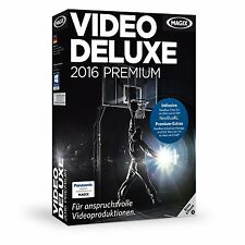 MAGIX Video deluxe 2016 Premium - NEU & OVP