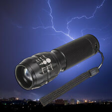 1x Torch 1000 lumen Useful Zoomable LED Flashlight Torch light outdoor lighting