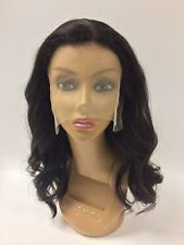 100% Virgin Unprocessed Brazilian Human Hair Lace Front Wig LOOSE BODY WAVE