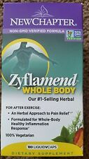 NEW CHAPTER Zyflamend Whole Body Healthy Inflammation Pain Relief 8/2018 180 Cap