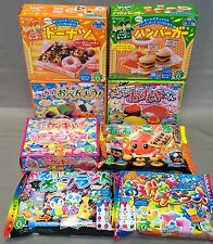 8pcs DIY making kit Kracie Happy Kitchen popin cookin  Japanese candy Japan food
