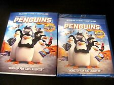 Penguins of Madagascar: Children)Blu-Ray/DVD/Digital HD 2015) NEW;I Ship Faster