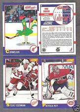 1991-92 Kellogg's NHL Hockey Card Set with Album