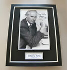 Sir George Martin Signed Framed 16x12 Photo Autograph Display The Beatles + COA