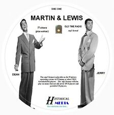 MARTIN AND LEWIS - 77 Shows Old Time Radio In MP3 Format OTR On 2 CDs