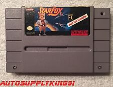NOT FOR RESALE NFR Starfox SNES Super Nintendo Store Kiosk Demo Cartridge Rare