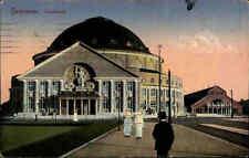 Feldpostkarte 1916 HANNOVER Stadthalle Deutsche Feldpost n. Heiligenfelde (Syke)