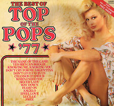 "THE BEST OF THE TOP OF THE POPS '77 LP 12"" Vinyl +CALENDAR/POSTER SHM999 UK 1977"