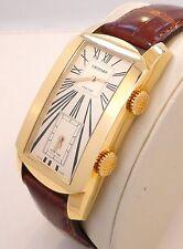 CHOPARD L.U.C DUAL TEC GMT XL 18K YELLOW GOLD MEN'S WATCH 162274-0001