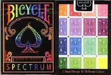 Bicycle Spectrum Playing Cards - Black Seal - Limited Edition - SEALED