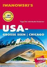 USA Grosse Seen 2014  & Karte UNGELESEN Chicago Amerika Iwanowski Reiseführer
