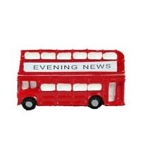 London Bus Fridge Magnet Red Double Decker Routemaster Souvenir Gift Traditional