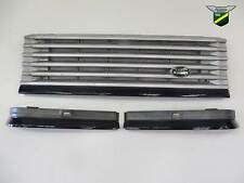 Range Rover P38 Front Grille & Lower Headlight Trim Eyebrow Set Oxford Blue 602