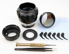 Objektiv Reparatur Minolta MC Rokkor 1,7/85 mm verölte Blende