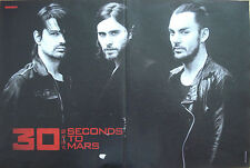30 Seconds To Mars   __  1 Poster   __    28 cm x 42 cm   __  Jared Leto