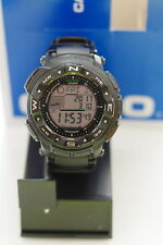 Casio PROTREK Atomic Altimeter Thermometer Tide Solar Compass Watch PRW2500-1AWC