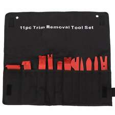 Red 11pc PLASTIC TOOL TRIM REMOVAL CLIP INTERIOR WEDGE DOOR PANEL Standard SET