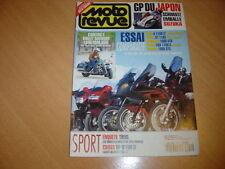 Moto revue N° 3134 Comparatif GT.Harley 1340 Road King.
