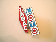PINS TABAC LOTO CIGARETTE LOTERIE JEUX