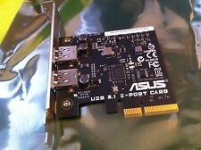 ASUS USB 3.1 TYPE-A CARD for ASUS X99  , Z170 SERIES ,RAMPAGE V EXTREME,ORIGINAL