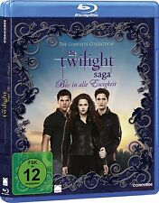 DIE TWILIGHT SAGA, The Complete Collection (5 Blu-ray Discs + Bonus-Disc) NEU