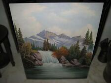 """Vintage Signed Original Oil Painting on Board By """"G. L. Covington"""" ~  24"""" X 30"""""""
