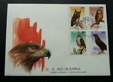 Macau Macao Bird Of Prey 1993 Eagle Owl Fauna Wildlife 澳门猛鸟 (stamp FDC)
