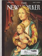 MAY 9 2005 -  THE NEW YORKER magazine -  MONA LISA STRANGE PAINTING