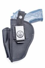 Nylon OWB Belt Gun Holster with Mag Pouch for Ruger KSR40 Semi Auto