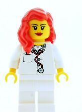 LEGO Female Nurse Doctor Medic Minifigure  NEW Town City