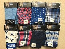 Set of 8 Men New American Eagle AEO Boxers, Size XS