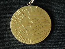 MANCHESTER UNITED 2006-07 PREMIER LEAGUE CHAMPIONS MEDAL C/W RIBBON