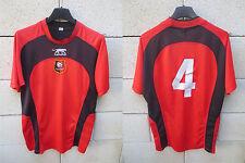 Maillot STADE RENNAIS RENNES porté n°4 AIRNESS football sans sponsor worn shirt