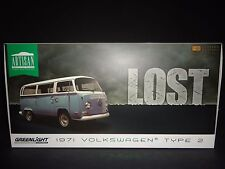 Greenlight Volkswagen Type 2 1971 Blue Lost 1/18 Limited Edition