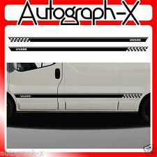 Vauxhall Vivaro LWB Campervan Van Stripes Stickers Graphics Decals