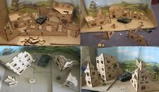28mm large Town of Ruins (Sets a B c and D Supplied) wargame scenery Bolt Action