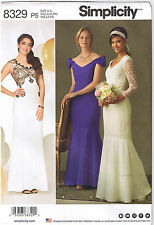 Wedding Prom Dress Flounce Off Shoulder Overlay Sewing Pattern 12 14 16 18 20