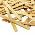 Lollipop Lolly Wooden Sticks Natural Craft Lollies Ice Pops Model Making Hobby